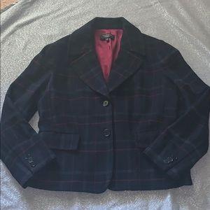 Talbots blazer 12P